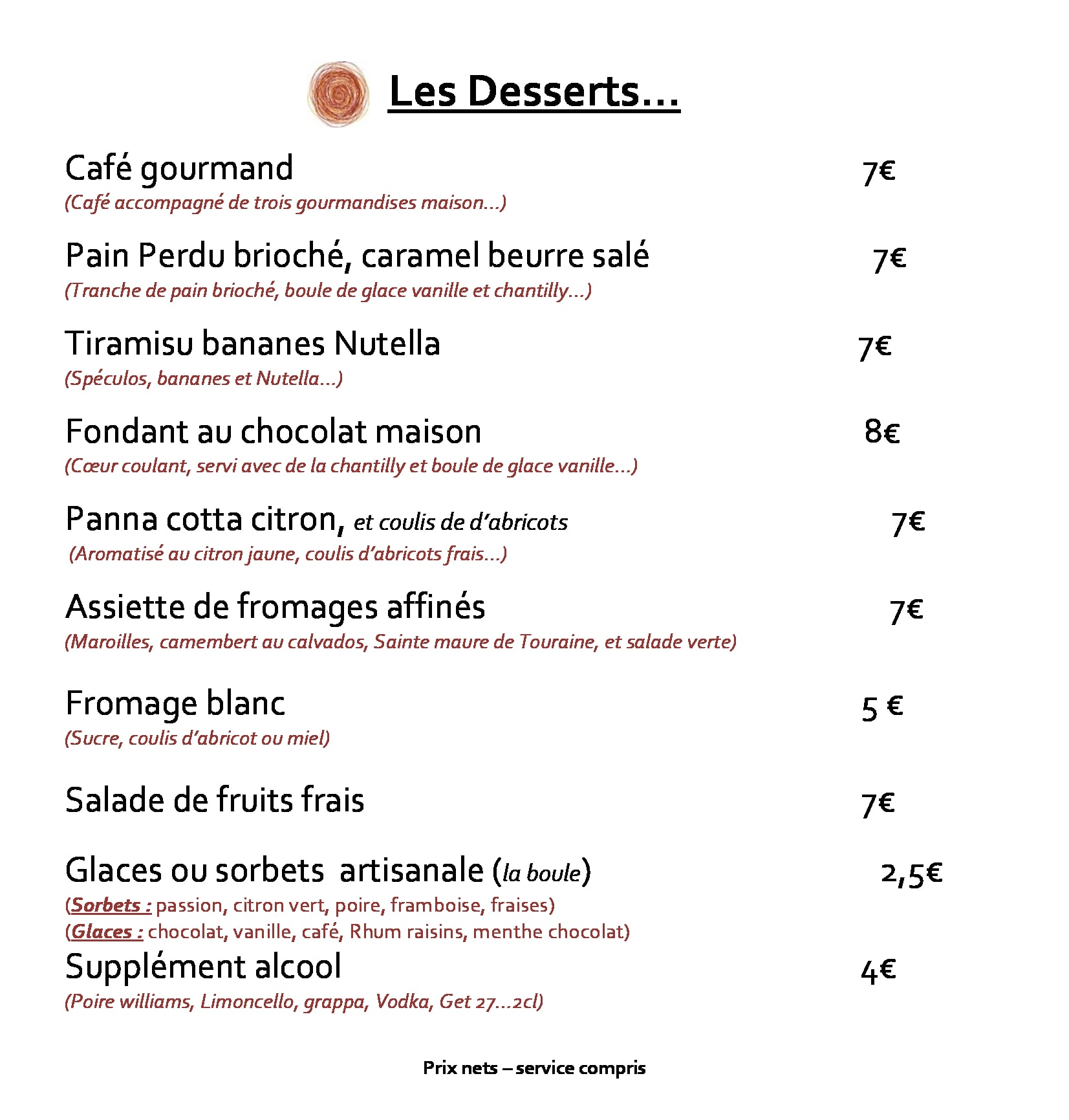 restaurant avec bon dessert vieux port-min